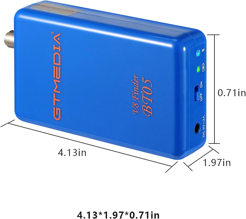 GT MEDIA BT05 - Localizador de Satélites con BT- Buscador Parabólico de Antena Satelital para Buscar Señales Satelitales - Medidor Posicionamiento ...