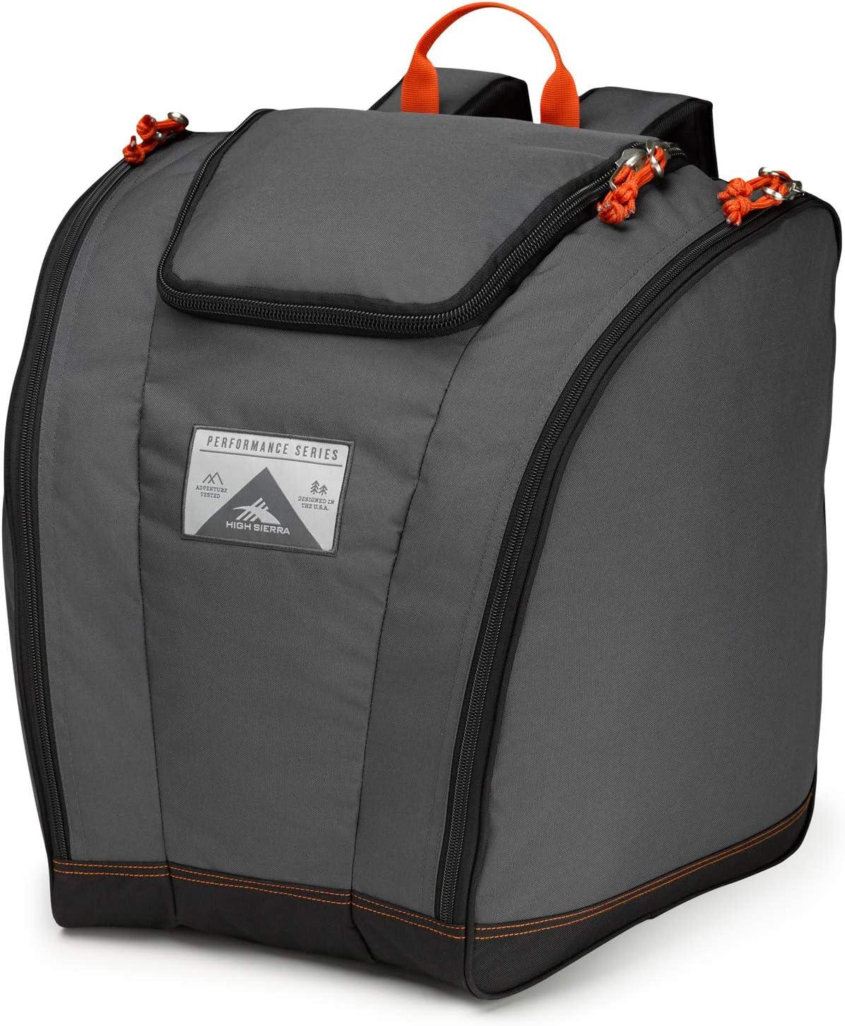 High Sierra Trapezoid Ski Boot Bag Backpack