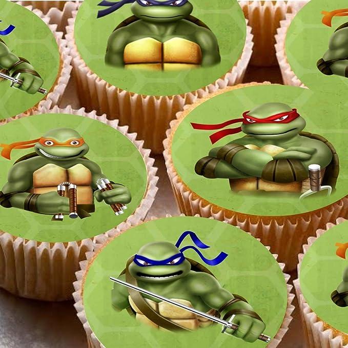 24 adornos para tartas 4 cm Diseño de Cupcake imágenes - ND2 ...