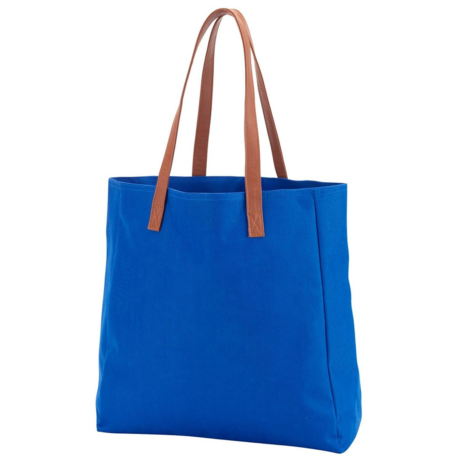 0639f1d6d9 Amazon.com  High Fashion Solid Tote Bag - Personalization Available  101  Beach