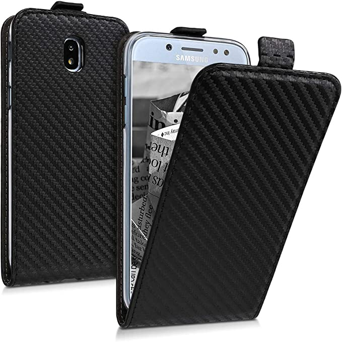 Amazon.com: kwmobile - Funda vertical con tapa para Samsung ...