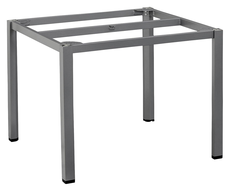 KETTLER Advantage Esstische Cubic-Tischgestell 95 x 95 cm, schwarz