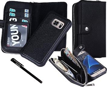Amazon.com: Urvoix Galaxy S7 Case, 2 in 1 [Separable ...