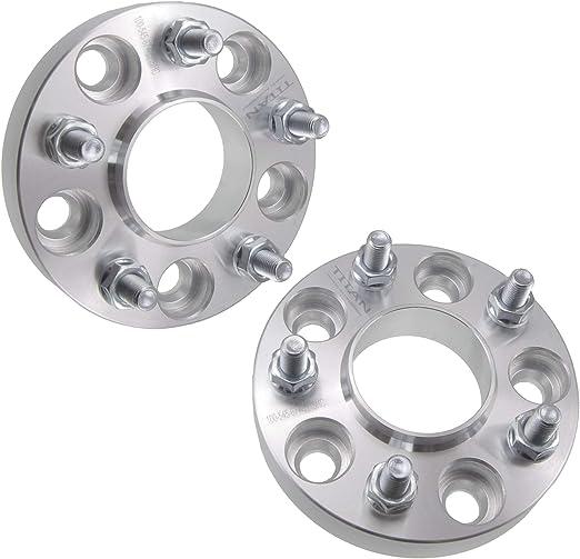 "25mm 1/"" Wheel Spacers 12x1.5 fits Mazda 3 Evo 8 9 10 5x114.3 4pc 5x4.5"