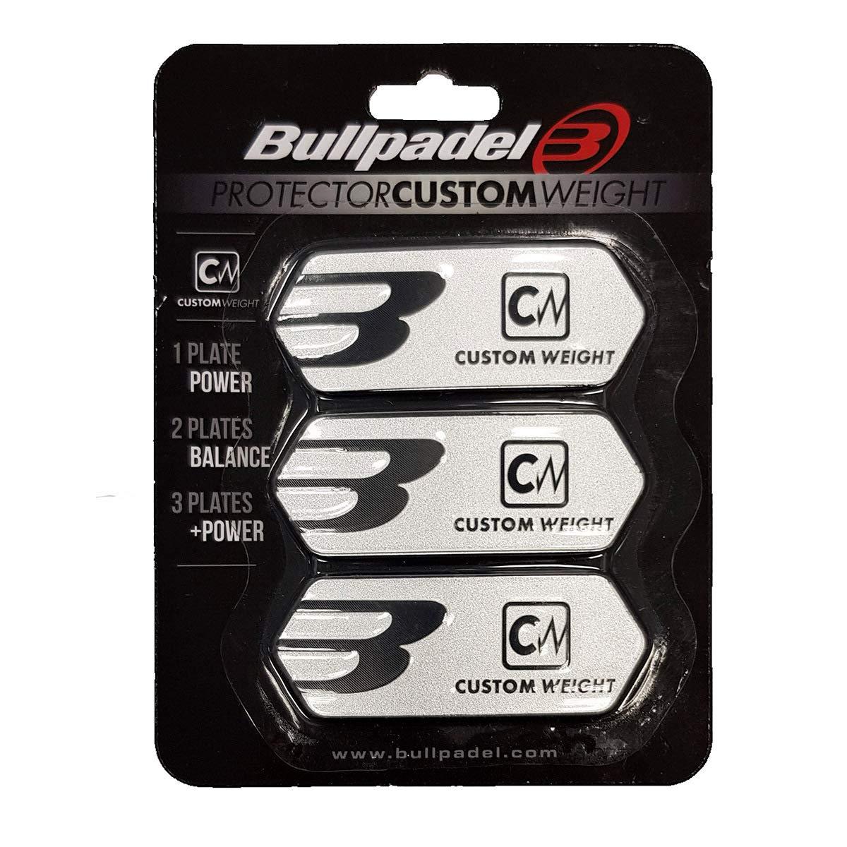 Lot de 3 Protections Cadre de raquette BullPadel: Amazon.es ...