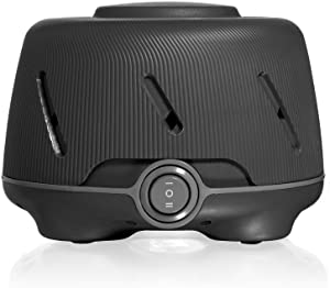 Yogasleep Dohm (Charcoal) | Soothing Natural Sound from a Real Fan | Noise Cancelling | Sleep Therapy, Office Privacy, Travel | For Adults & Baby | 101 Night Trial