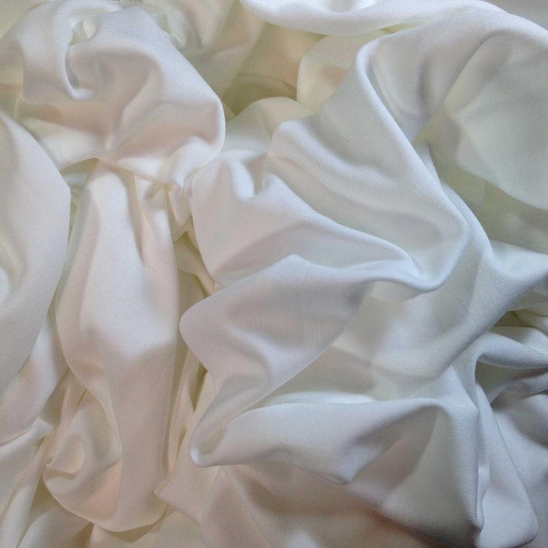 Algodón orgánico tela VF Fibra gamuza de color blanco Material de punto para camiseta de enclavamiento y prendas de vestir de costura impresión teñido Manualidades Tie Dye y textil arte: Ariadne: Amazon.es: