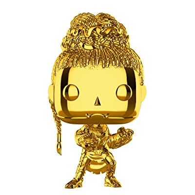 Funko Pop! Marvel Studios Ten Years Black Panther Gold Metallic Shuri Fall Convention Exclusive Figure: Toys & Games
