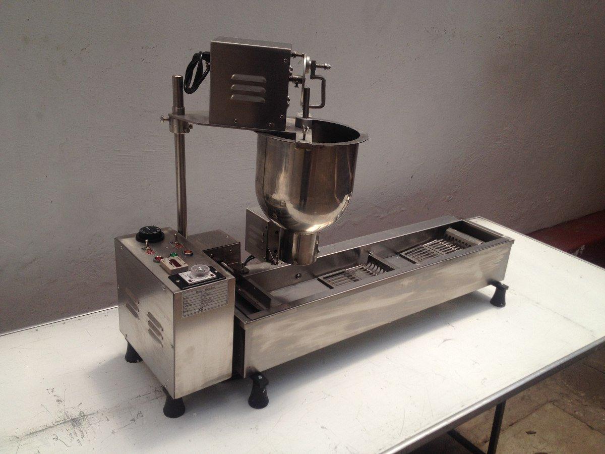 Yoli® Comercial automático máquina de Donut, Donut de Acero Inoxidable Eléctrica/freidora, más Amplio, uno moldes del depósito de Aceite: Amazon.es: Hogar
