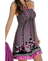 DaySeventh 1pc Women Wrapped Chest Waist Dress Bohemian Casual
