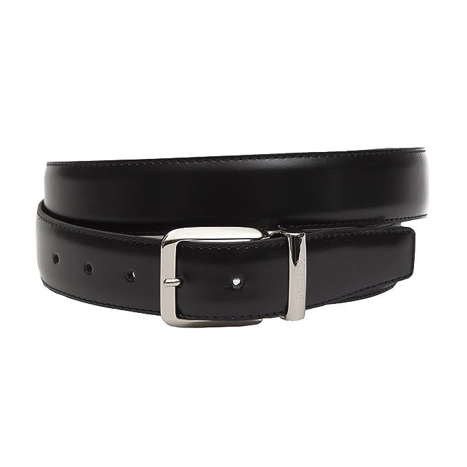 816e43d4d88cd Gianfranco Ferré - Cinturón de cuero para hombre made in Italy Double - Mod.  C223: Amazon.es: Ropa y accesorios