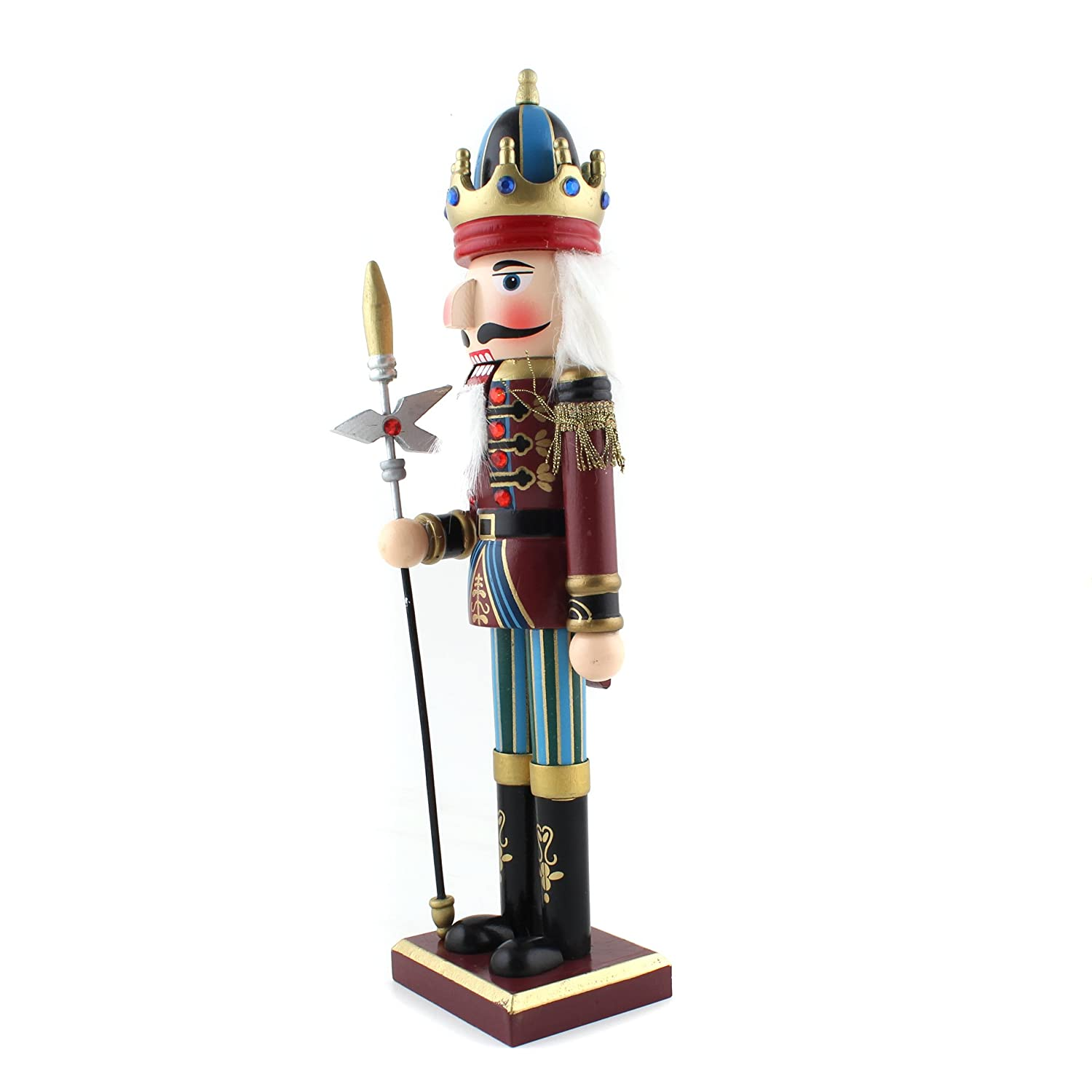 amazoncom 12 lance nutcracker wooden soldier toys ornaments holiday decoration gifts toys games - Large Toy Soldier Christmas Decoration