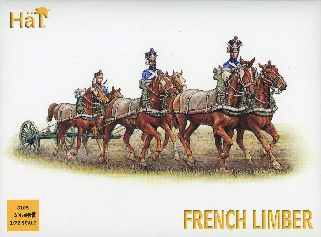 帽子1 : 72 French LimberプラスチックFiguresキット# 8105 B078M92FMJ
