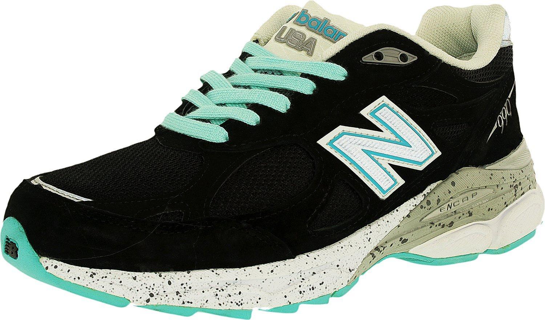 New Balance Women's 990V3 Running Shoe B0159CFZPI 5.5 W US|Aquamarine