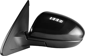 New Left//Driver Side Non-Towing Mirror Manual Folding For Mazda 3 2010-2013