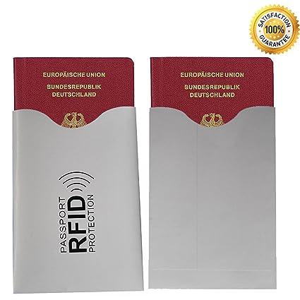 100% Seguridad RFID & NFC Carcasa (5 unidades) 90 x 58 mm ...