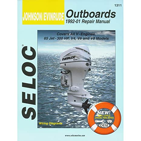 Seloc Service Manual Johnson Evinrude All V Engines 1992 01