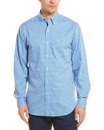 8524c6304 Amazon.com  Southern Tide Men s Gingham Sport Shirt  Clothing