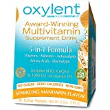Oxylent - Multivitamin Suplplement Drink Sparkling Mandarin 5 in 1 Formula- 6.6 oz. (30 servings)