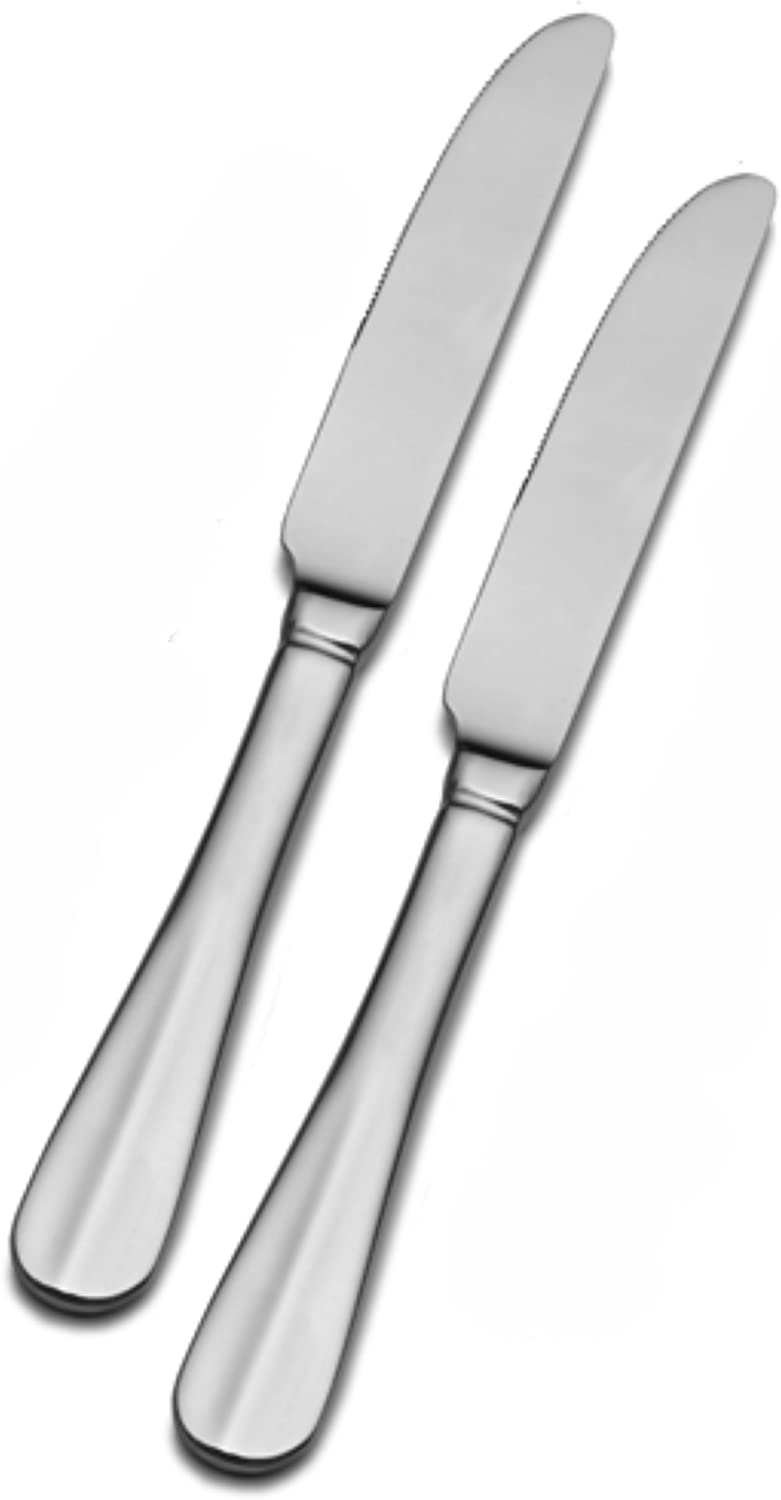 Pfaltzgraff Simplicity Stainless Steel Dinner Knife, Set of 2: Home Decor Accents: Kitchen & Dining