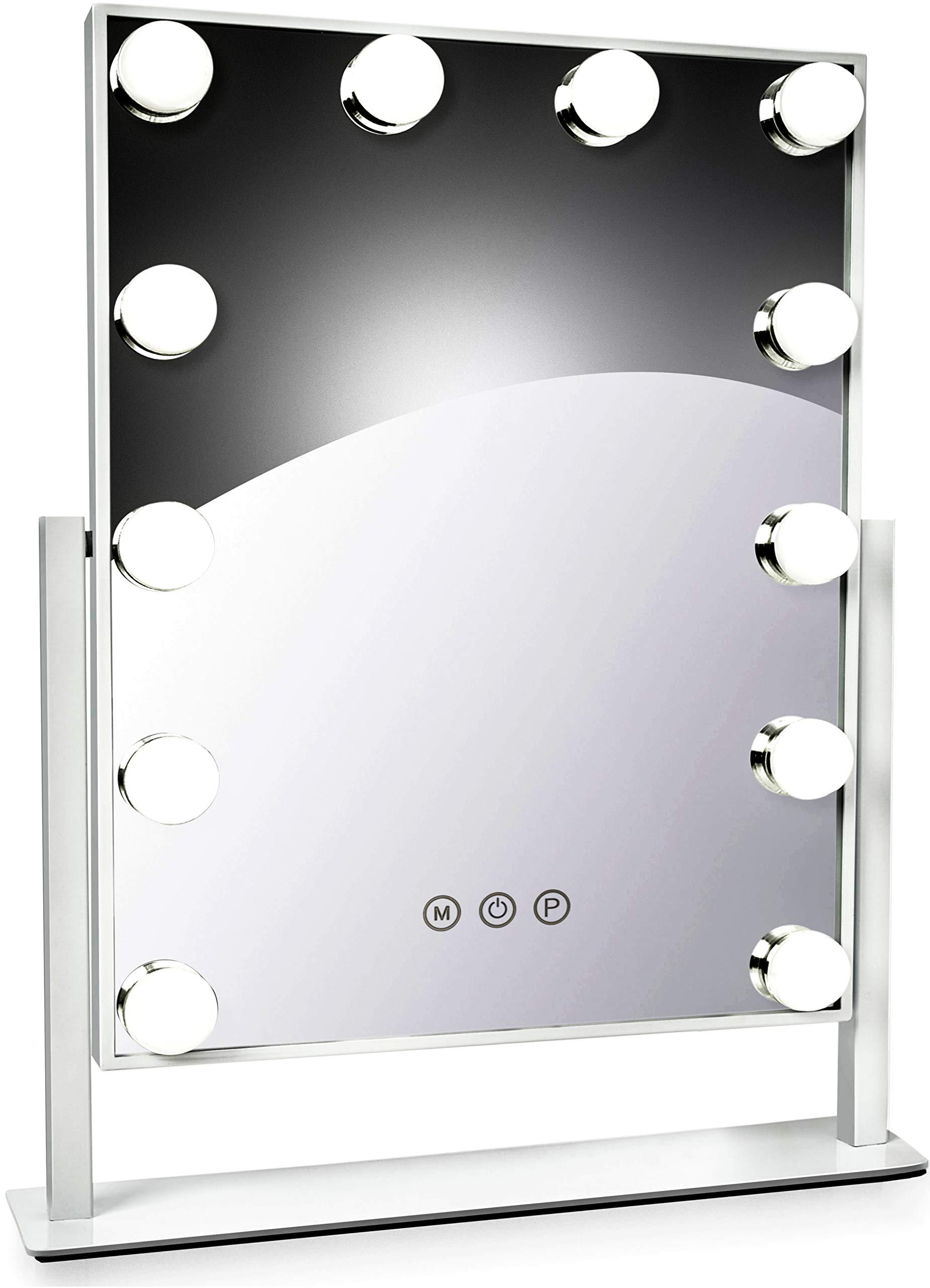 Albor Makeup Vanity Mirror with Lights - Lighted Makeup Mirror with Lights Mirrors Led Mirror Makeup Light Lighted Mirror Vanity Lights Makeup Vanity with Lights Vanity Light Led Vanity Mirror by Albor