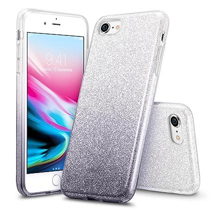 iphone 8 case black glitter