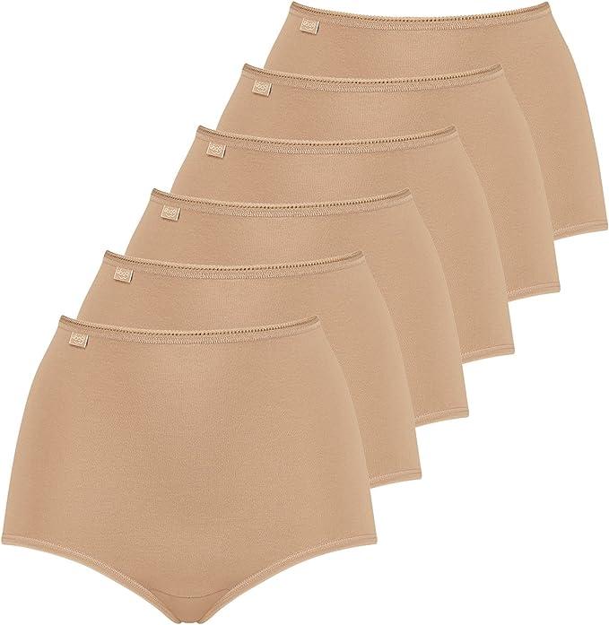 4er Pack Sloggi Damen Basic Slip Maxi Taillenslip