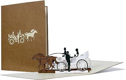 Partecipazioni Matrimonio Tridimensionali.Biglietti Auguri Matrimonio Per Sposi Originali Partecipazioni