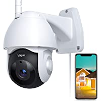 $47 » Security Camera Outdoor, Voger 360° View WiFi Home Security Camera System 1080P with IP66…