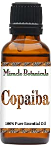 Miracle Botanicals Copaiba Essential Oil - 100% Pure Copaifera Langsdorfii - 10ml or 30ml Sizes - Therapeutic Grade - 30ml