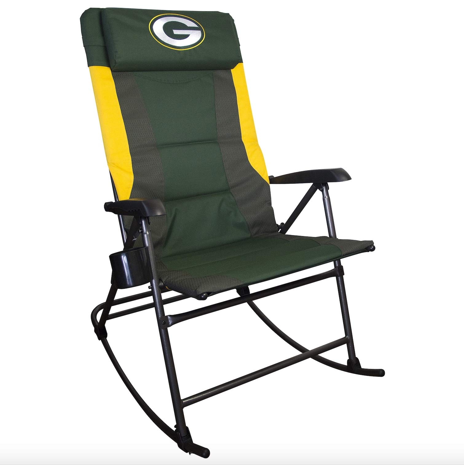Rawlings NFL Green Bay Packers Mens Large Rocker Chair, Green Large