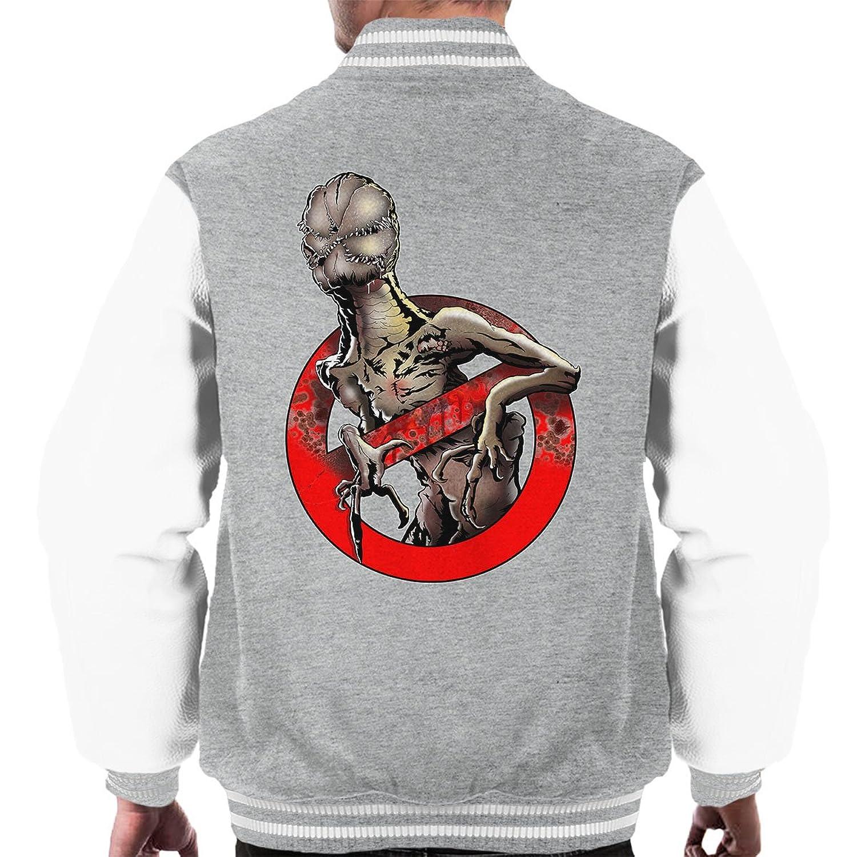 Stranger Things Ghostbusters Demogorgon Men's Varsity Jacket