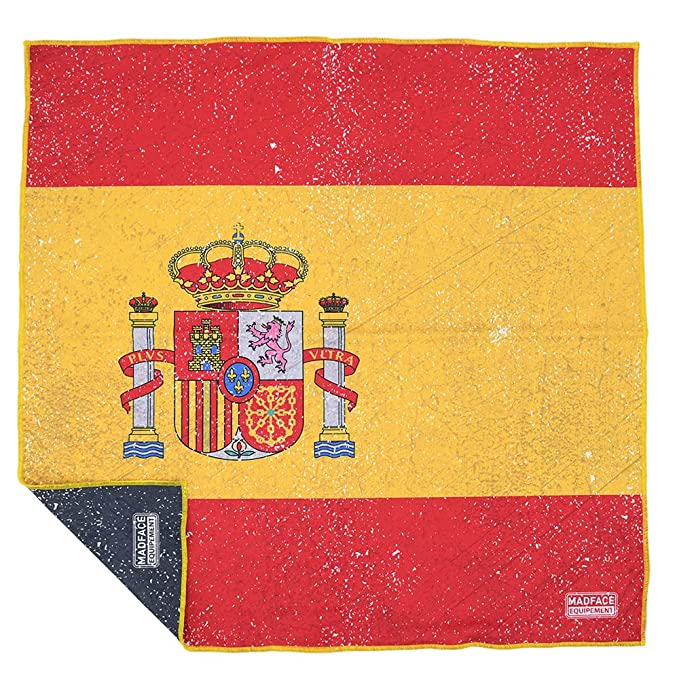 MADFACE Bufanda reversible vintage España - 100% made in France ...