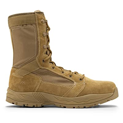 Maelstrom Mil Lite Men's 9'' Coyote Brown Military Boot AR 670-1 Compliant: Shoes