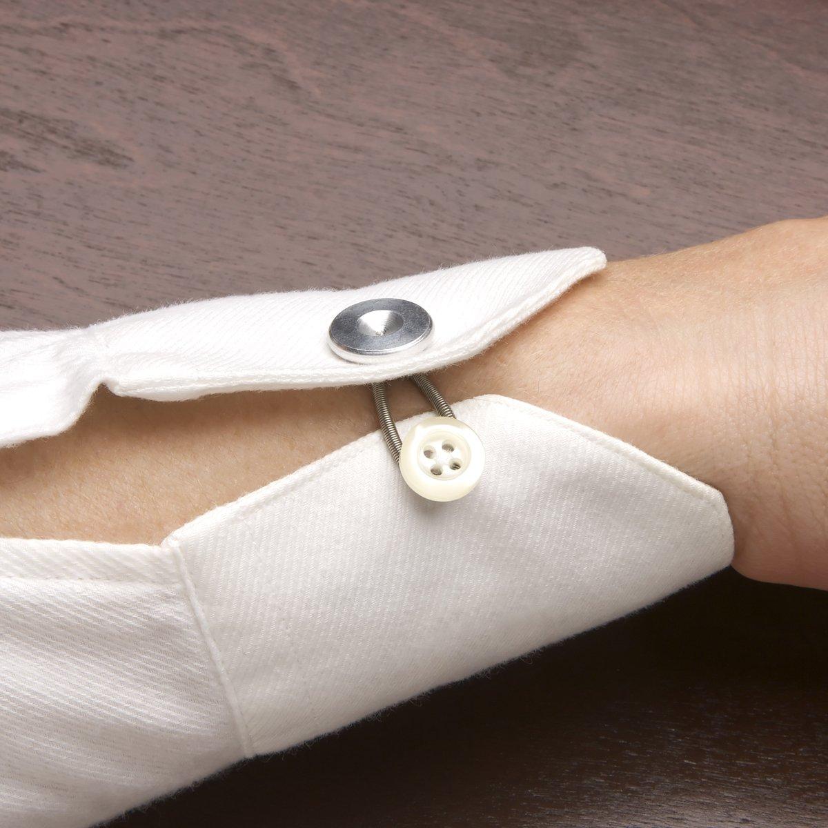 InterInnov Botones extensores, perfectos para pantalones, faldas, vaqueros, abrigos, cuellos de camisa