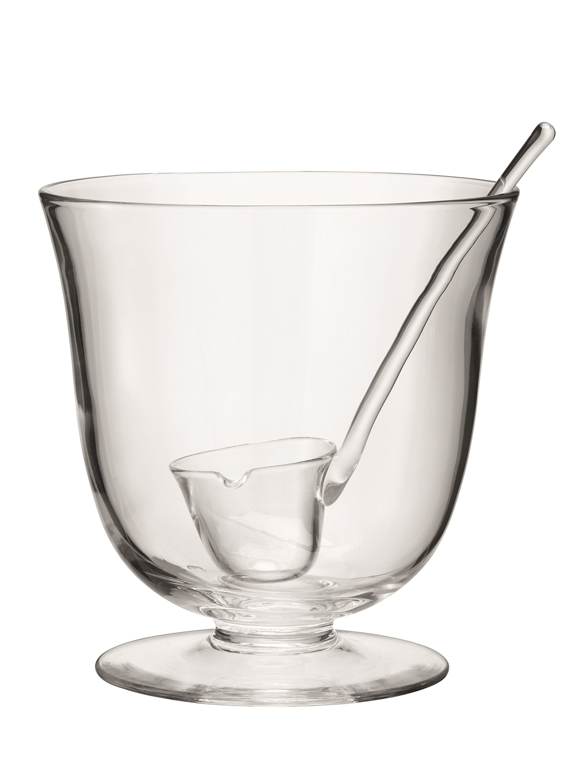 LSA International Serve Punchbowl & Ladle, 9.75'', Clear