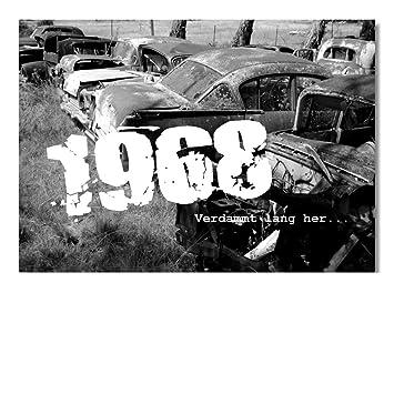 DigitalOase Glückwunschkarte Jahrgang 1968 51. Geburtstag