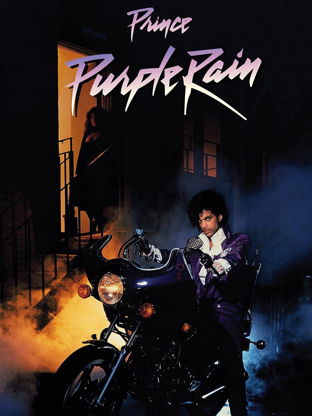 "777 Tri-Seven Entertainment Prince Purple Rain Movie Poster, 18"" x 24"""