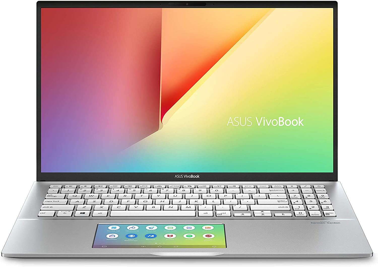 "Amazon.com: ASUS VivoBook S15 S532 Thin & Light Laptop, 15.6"" FHD, Intel  Core i7-10510U CPU, 16GB RAM, 1TB PCIe SSD, NVIDIA GeForce MX250 Graphics,  IR Camera, Windows 10 Home, S532FL-DS79, Transparent Silver:"
