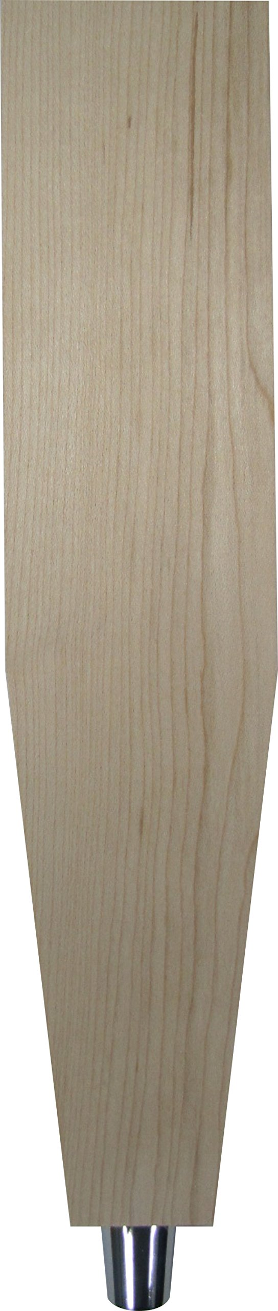 Unfinished 12.5'' Solid Maple Tapered Tap Handle