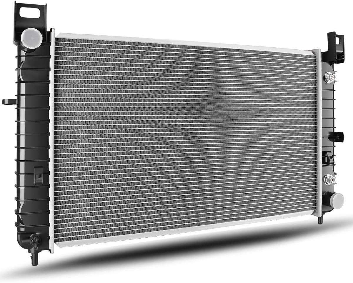 ESCALADE RADIATORS CHEYANE INLET PLASTIC TANKS FOR GM SILVERADO