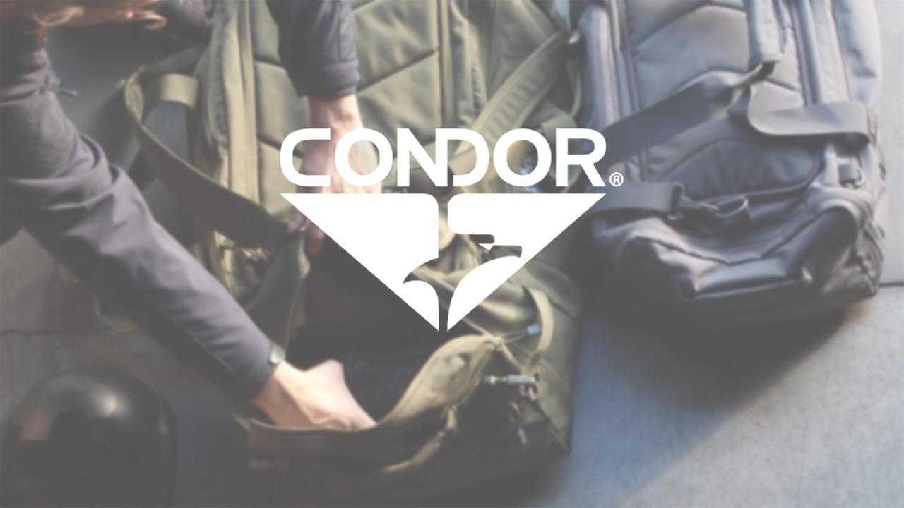 CONDOR Centurion Duffle Bag (Black)