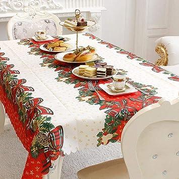 Camino de mesa de Navidad, decoración navideña, mantel impreso con ...