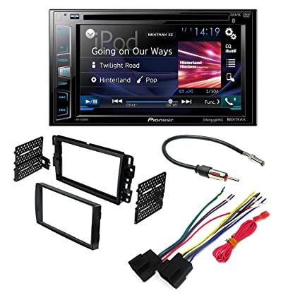 Pioneer AVH-200EX AFTERMARKET CAR Stereo Dash Installation KIT W/Wiring on
