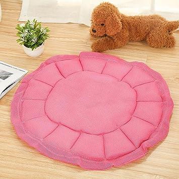 Lozse cojín Caseta para Perros cojín ortopédico Transpirable Coche Redondo cojín Impermeable 68 x 68 cm para el Perro y Mascotas: Amazon.es: Productos para ...