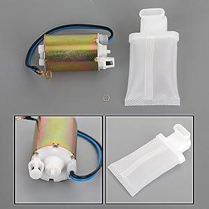 Bruce & Shark New Fuel Pump & Strainer/Filter for Suzuki GSXR 600 97-00 & GSXR 750 96-99