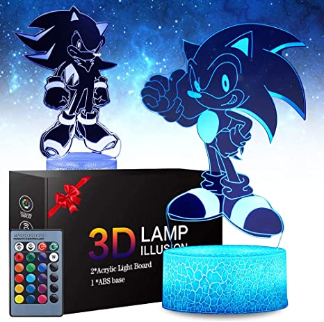 SONIC THE HEDGEHOG LAMPSHADE CEILING LIGHT SHADE KIDS FREE P+P 068