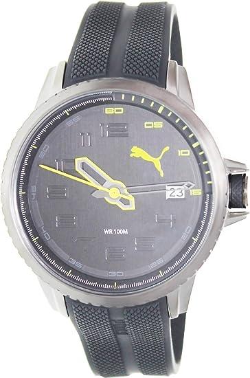 PUMA PU103281003 - Reloj (Reloj de Pulsera, Masculino, Acero Inoxidable, Acero Inoxidable