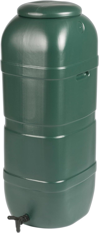 Depósito agua de lluvia 100L exterior verde