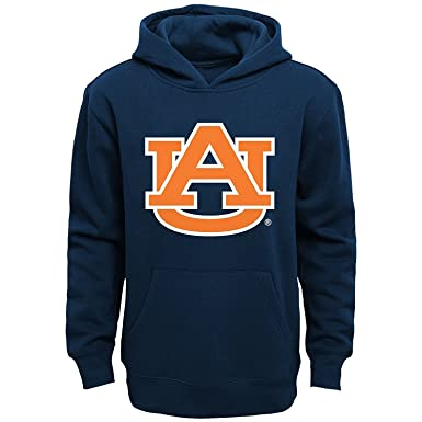 701618e95 Auburn Tigers Navy Youth Primary Logo Fleece Pullover Hoodie (Small 8)